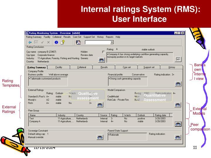 Internal r