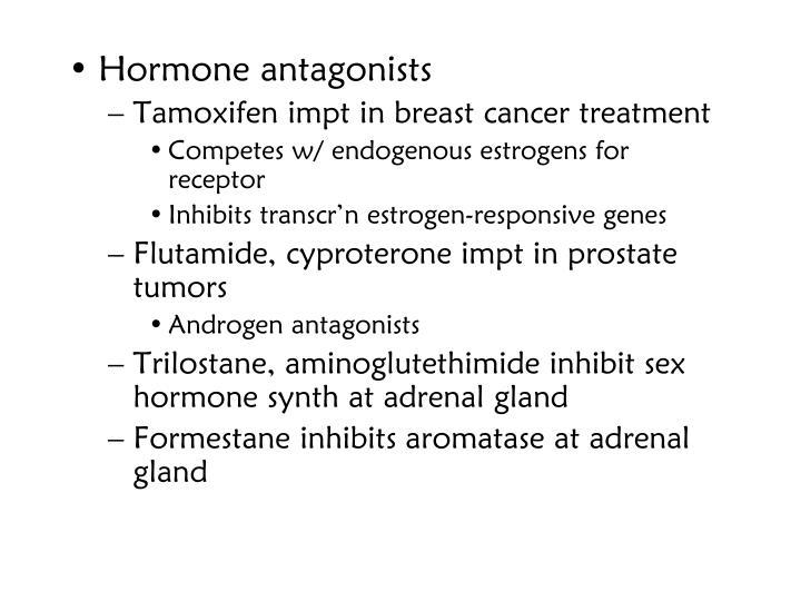 Hormone antagonists