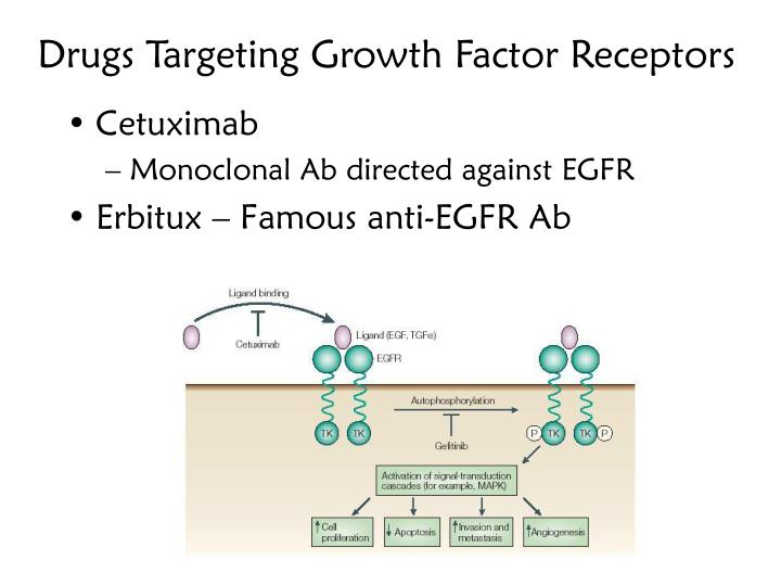 Drugs Targeting Growth Factor Receptors