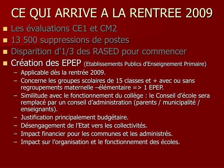 Les évaluations CE1 et CM2
