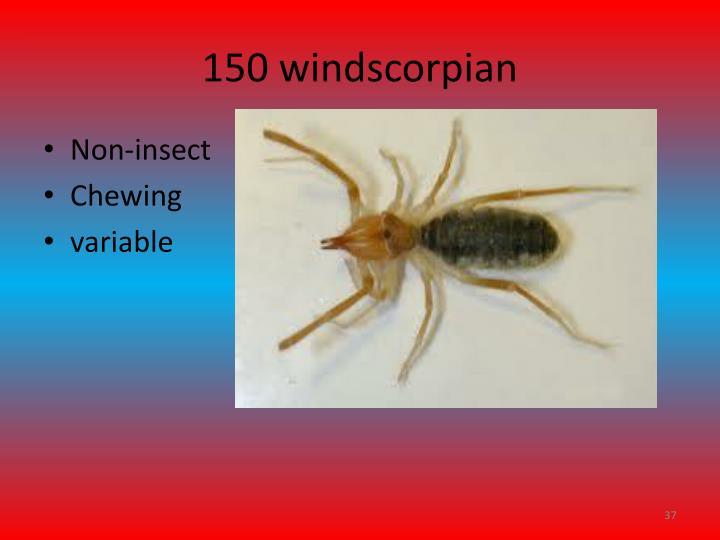 150 windscorpian