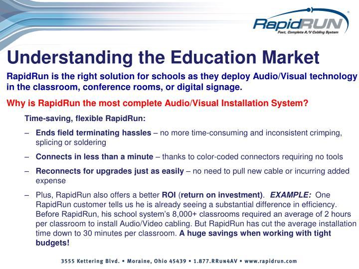 Understanding the Education Market