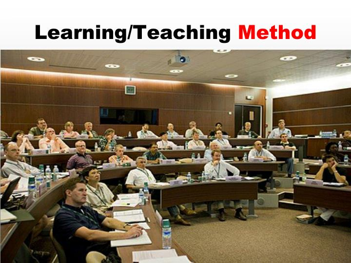 Learning/Teaching