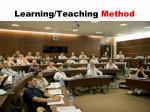 learning teaching method