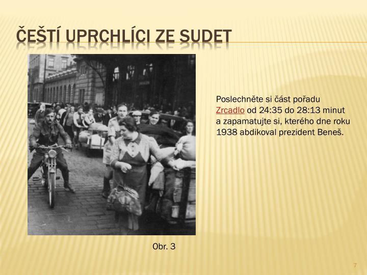 Čeští uprchlíci ze Sudet