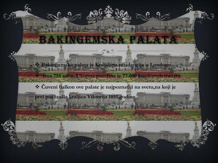 Bakingemska Palata