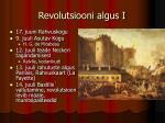 revolutsiooni algus i