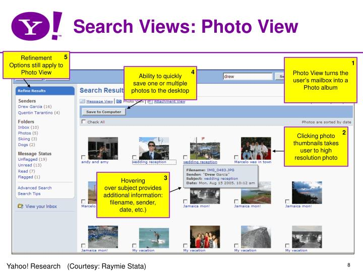 Search Views: Photo View