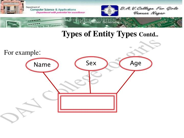 Types of Entity Types