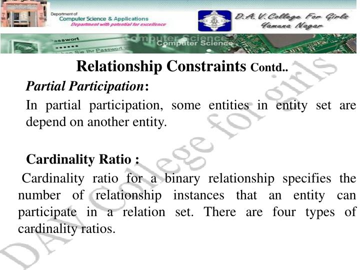 Relationship Constraints