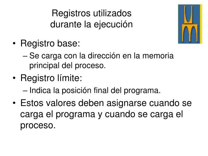 Registro base: