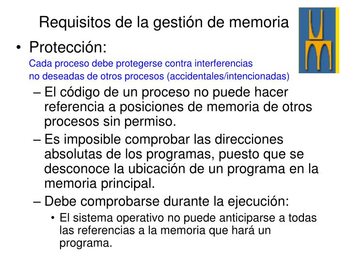 Protección: