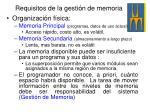 requisitos de la gesti n de memoria4