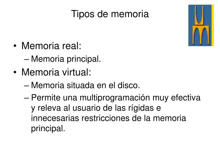 Memoria real: