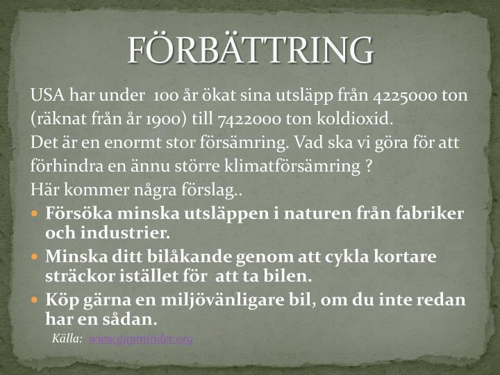 FÖRBÄTTRING