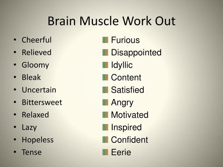 Brain Muscle Work Out