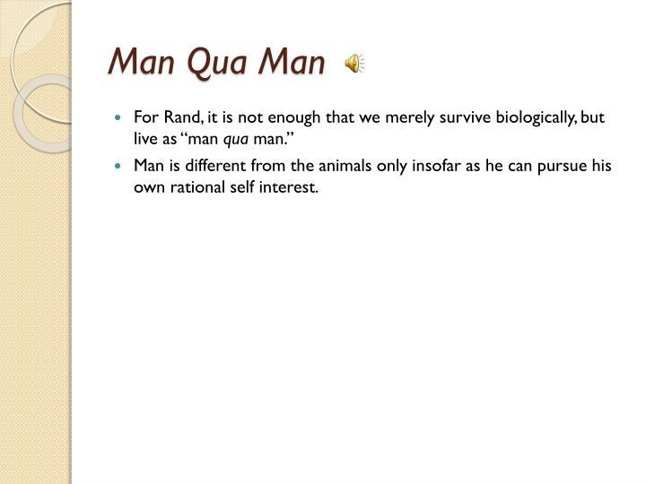Man Qua Man