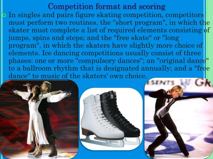 Competition format and scoring
