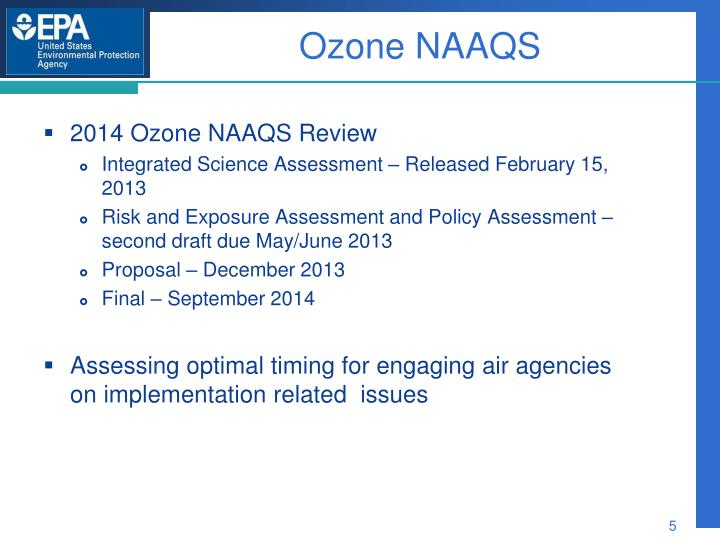 Ozone NAAQS