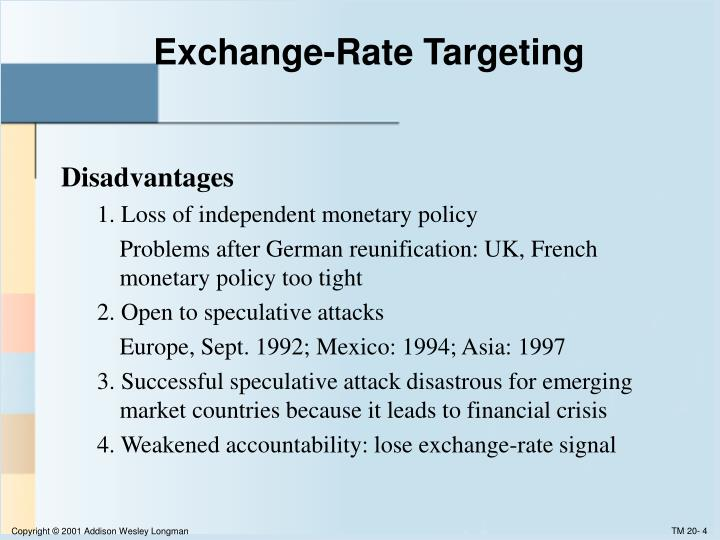 Exchange-Rate Targeting