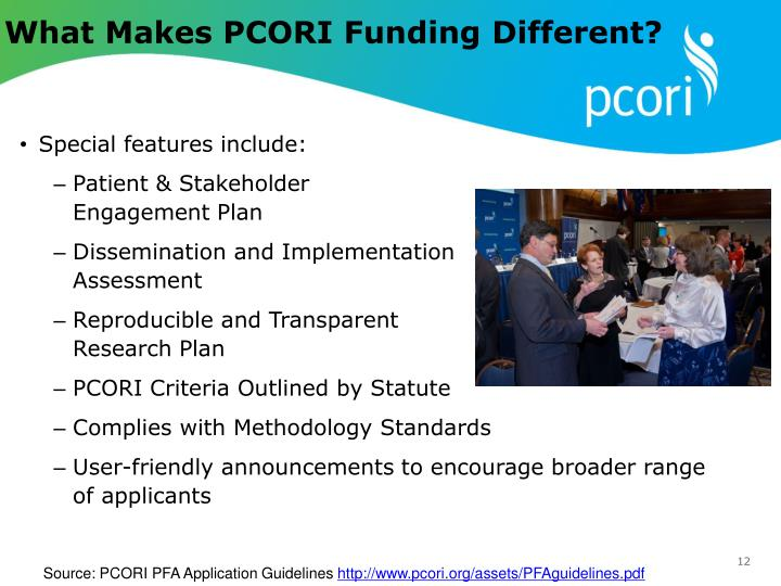What Makes PCORI Funding Different?