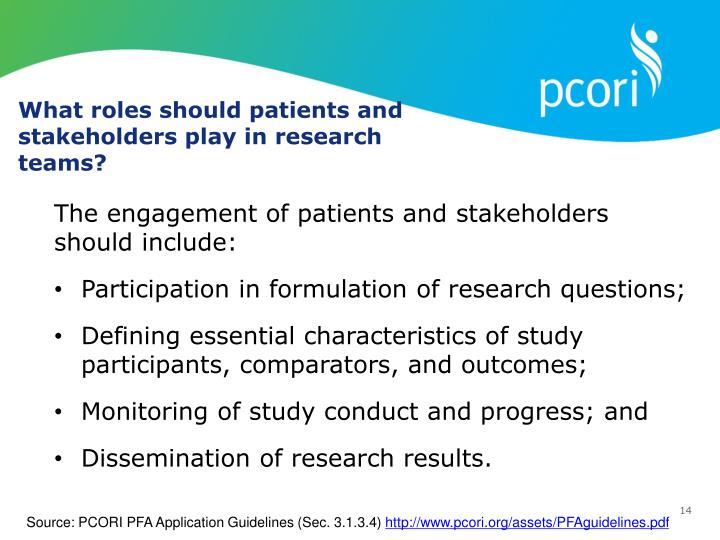 What roles should patients and stakeholders play in research teams?