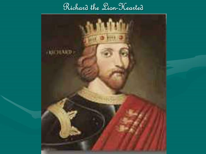 Richard the Lion-Hearted