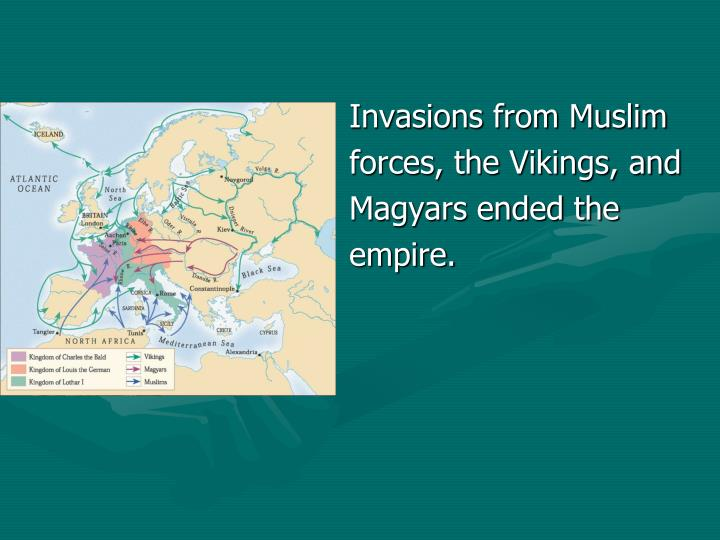 Invasions from Muslim