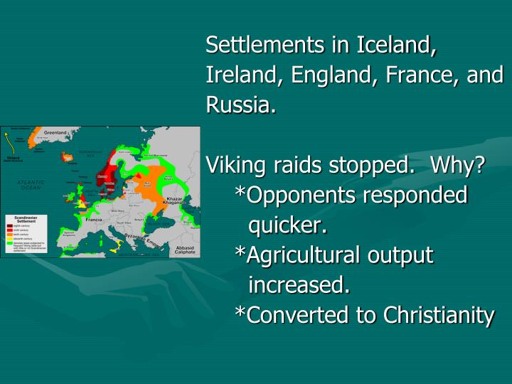 Settlements in Iceland,