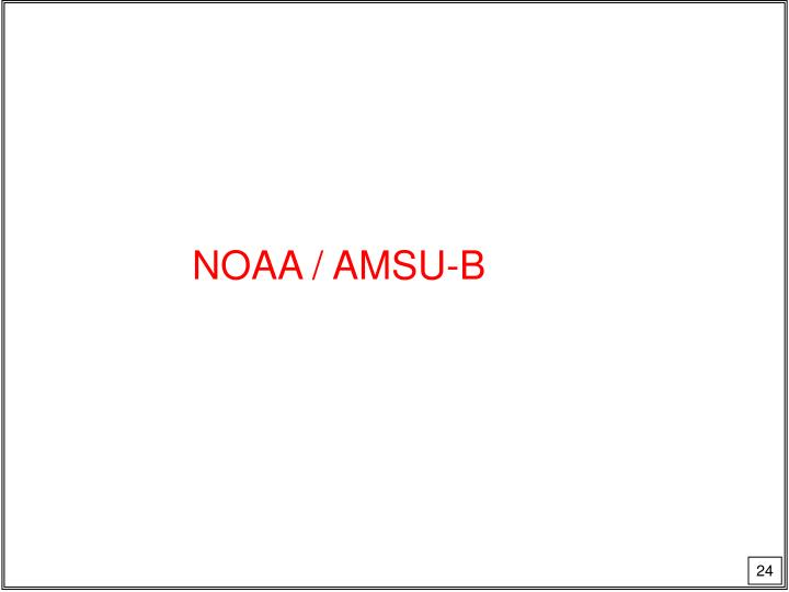NOAA / AMSU-B