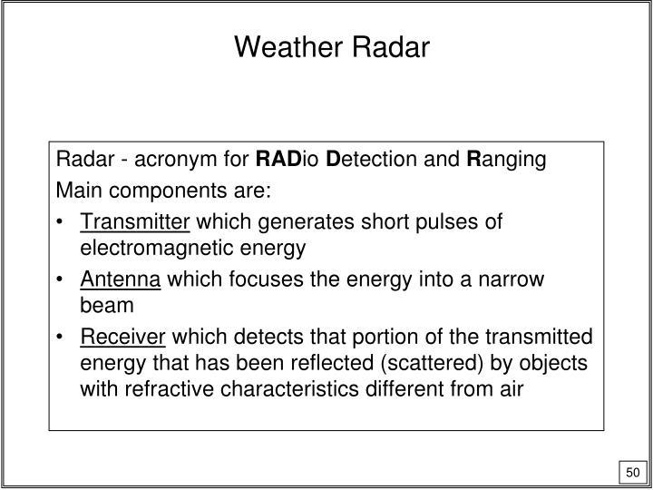 Weather Radar