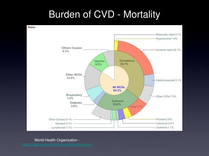 Burden of CVD - Mortality