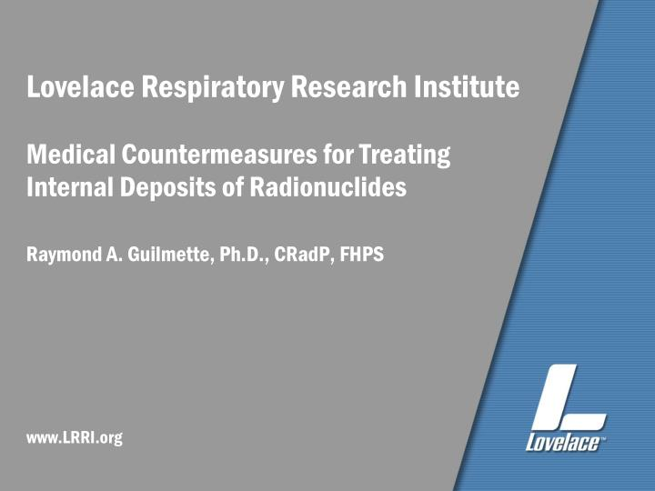 Lovelace Respiratory Research Institute