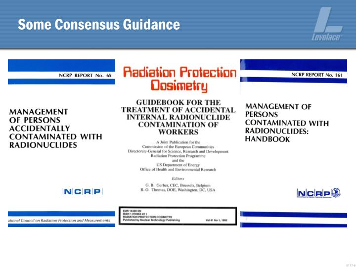 Some Consensus Guidance