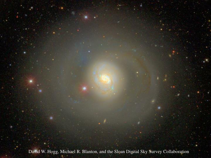 DavidW.Hogg, MichaelR.Blanton, and the Sloan Digital Sky Survey Collaboration