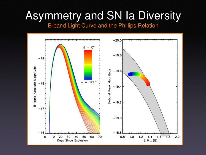 Asymmetry and SN Ia Diversity
