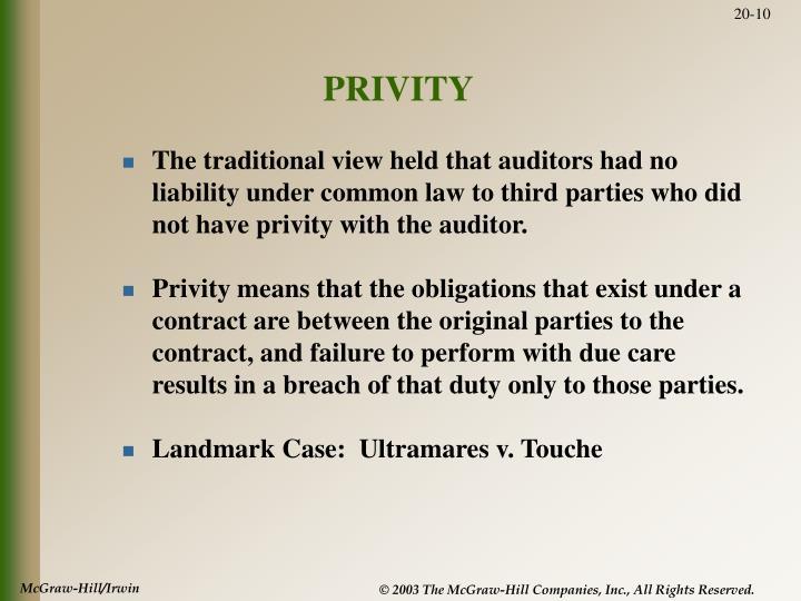 PRIVITY