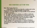 securities act of 19341
