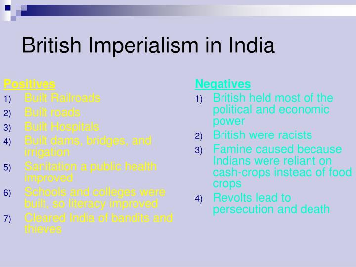 overview of british imperialism Hopkins, refresh 7 (autumn 1988) five the old debate about the nature, importance and consequences of british imperialism has been the subject of much recent research.