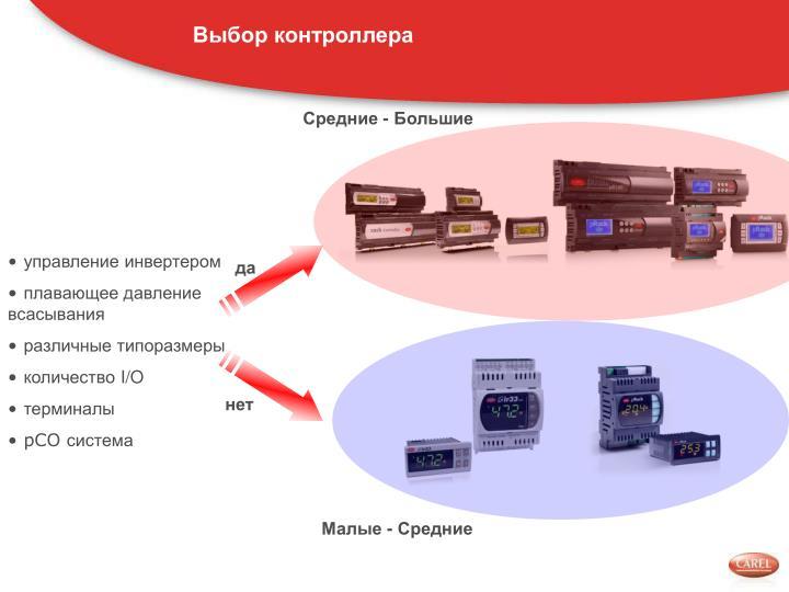 Выбор контроллера