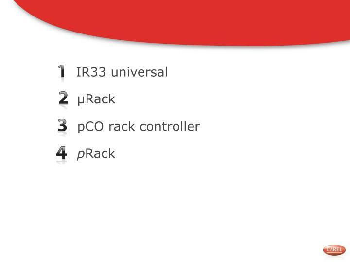 IR33 universal