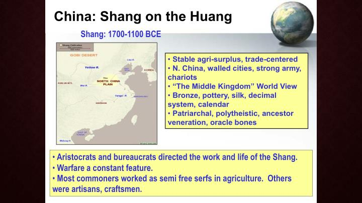 China: Shang on the Huang