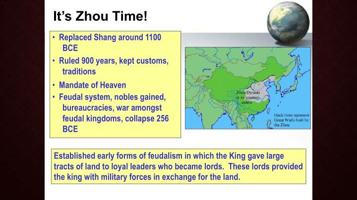 It's Zhou Time!