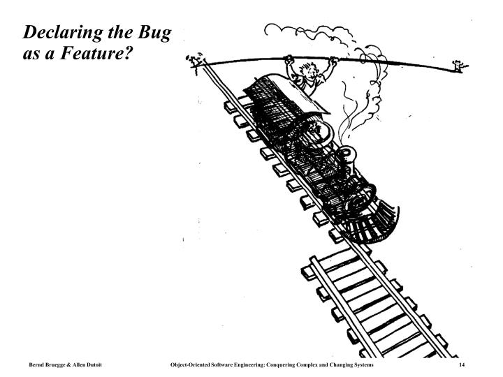 Declaring the Bug