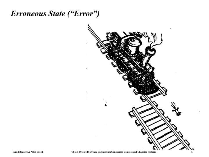 "Erroneous State (""Error"")"