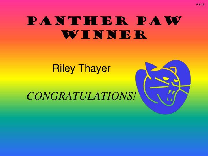 Riley Thayer