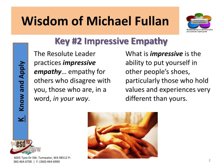 Wisdom of michael fullan1