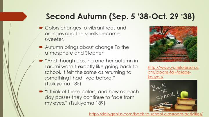 Second Autumn