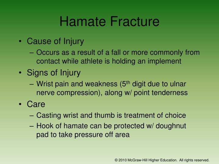 Hamate Fracture