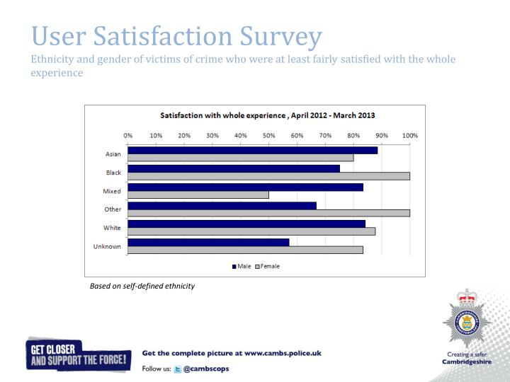 User Satisfaction Survey